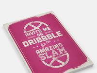 My dribbble ticket
