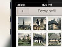 Monumente Romania iPhone photos screen