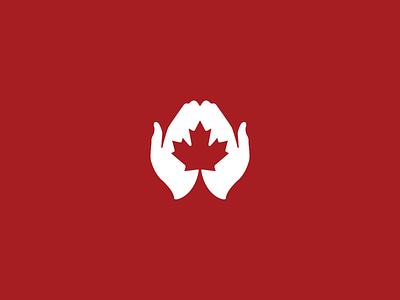 Canadian Comfort Care care hands comfort barrie break down logo media branding logo design