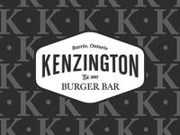 Kenzington Burger Bar Logo