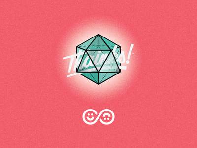 Thainks!  & Icosahedron Logo