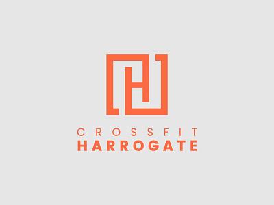 Crossfit Harrogate graphics design ilustration vector symbol logo design branding logo crossfit
