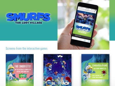 Interactive Mobile Campaign cartoon game mobile game marketing promotion movie client work ad campaign advertising illustration design