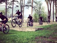 Mountain bike sequence