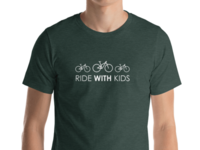 Ride WITH Kids tee