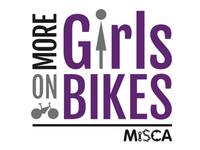 More girls on bikes logo