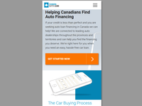 Screenshot Canada Auto Loan - Mobile