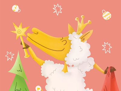 New Year's Twelve Sheep Cards