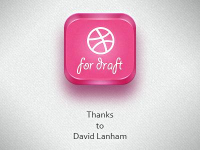 Thanks to David Lanham