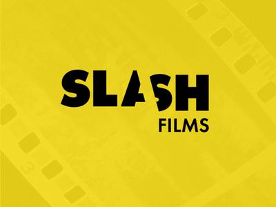 LogoCore - 06 - Slash Films film logo slashfilms logochallenge logodesign logo 30daylogochallenge logocore