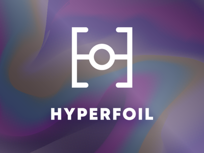 LogoCore - 27 - HyperFoil gradient hyperfoil logodesign logochallenge logo 30daylogochallenge logocore