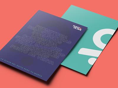 Punto Clave - Stationery presentation logo typography minimal stationery diseño de marca identidad de marca marca brand design brand identity branding brand graphic design design
