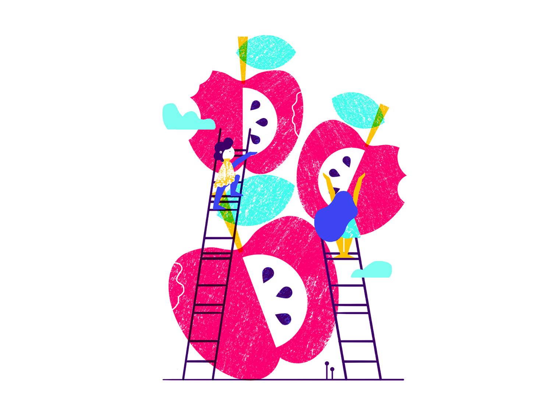 CHILDREN'S RIGHT TO EAT cute art eat character art beautiful love ilustracion vector illustrator flatillustration color artist photoshop illustration flat design