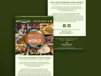 Email Product Design for Foodie Event at Hotel Restaurant