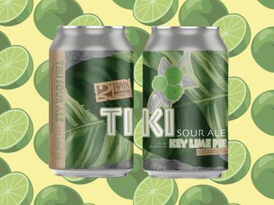 2Toms Tiki Sour Ale: Key Lime Pie