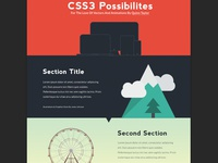 Css3 Possibilities