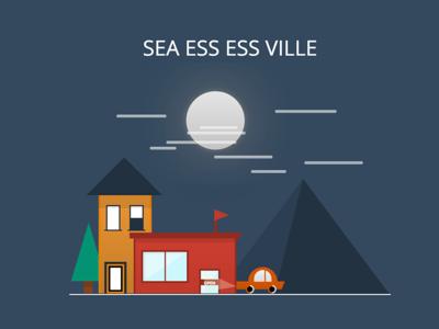 CSS Ville - A codepen project