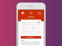 Card Payment Page - UI Design Challenge #002 2018