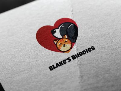 Blake's Buddies Logo design