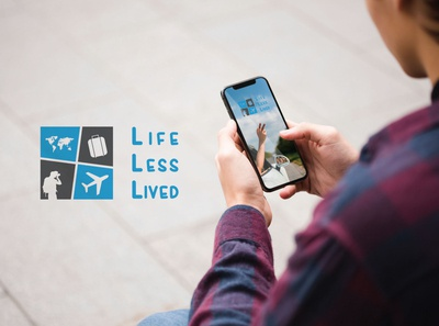 Life Less Lived Travel Blog Logo