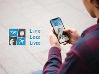 Life Less Lived Travel Blog Logo