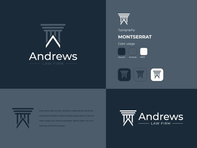 Law Firm Logo Design vector minimal clean branding and identity graphic designer law firm logo branding brand graphic design logo design logo attorney lawyer law firm law