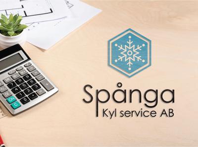 Spånga Kyl service Ab logo design