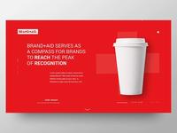 Brand+Aid Website Concept