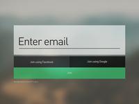 Signup UI