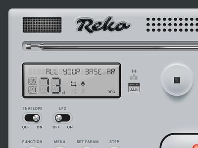 Reko device beta playground vector figma