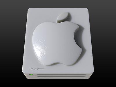 MacOS drive icon wax plastic icon macos drive