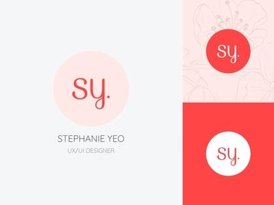 SY UX/UI Designer Logo