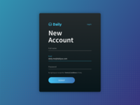 Daily UI - Signup