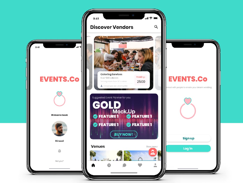 Events Co events app poster posters weddings graphic design graphicdesign design illustration