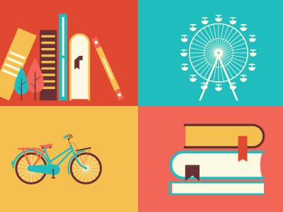 Bike and Book bike vintage pablo moreno book