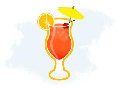 Island Punch alcohol punch drink