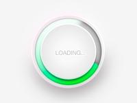 loading ring loading circle glow progress bar loading ring