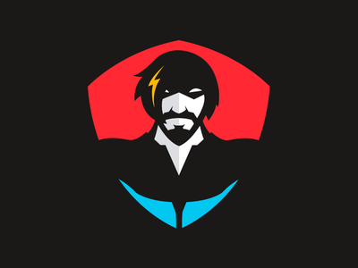Super Hero Mascot Icon sports mascot hero super hero illustration mark logo brand branding icon