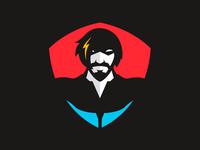 Super Hero Mascot Icon