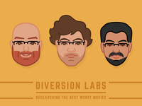 Diversion Labs Movie Group Faces
