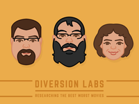Diversion Labs Movie Group Faces Vol: 2