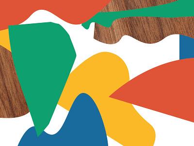 Untitled mark fun design flat graphic retro brand branding color icon illustration