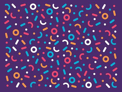Visual Play pattern art patterns pattern design colorful sweet pattern fun retro illustration
