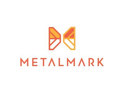 Metalmark Brand color design mark retro brand logo branding icon illustration