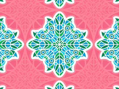 Pattern Play patterns pattern floral flower mandala drawing logo fun color icon illustration