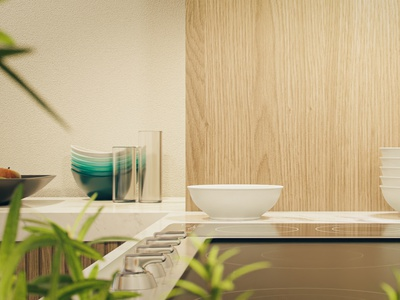 Kitchen furniture props megascans photoshop archittecture visualisation 3d architecture design 3d archviz house room kitchen design archviz architecture 3d art blender3dart blender3d 3d modeling 3d