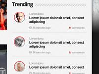 Trending Module