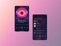 Mobile audio player concept