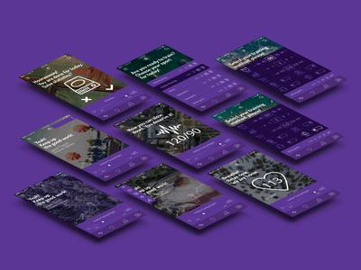 ECHOO - The AI trainer - UI design