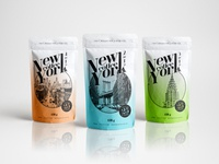 New York Coffee - Plastic Pouch - 2in1
